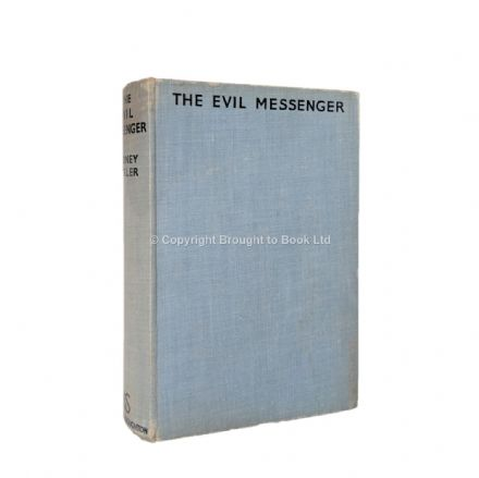 The Evil Messenger by Sydney Horler First Edition Hodder & Stoughton 1938